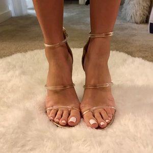 Strappy BEBE heels